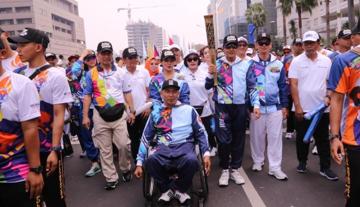 Keren! 270 Bus Ramah Disabilitas Tersedia untuk Atlet Para Games - Warta Ekonomi
