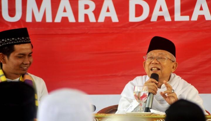Foto Berita Waduh! Ma'ruf Amin Sebut Ada Upaya untuk Ganti Pancasila dengan Khilafah