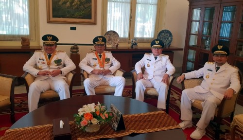 Foto Usai Dilantik Jokowi, Begini Janji Gubernur Sumsel
