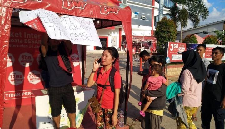 Foto Berita TelkomGroup Sediakan Wifi Gratis dan Serahkan 1.000 Simcard untuk Polda Sulteng