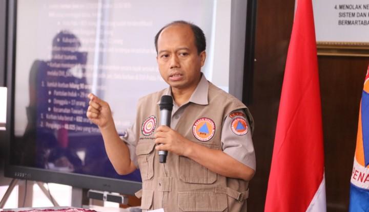 BNPB: Volume Gunung Anak Krakatau Menurun - Warta Ekonomi
