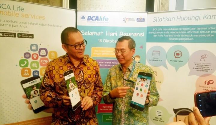 Foto Berita Respons Kebutuhan Nasabah, BCA Life Luncurkan BCA Life Mobile Services