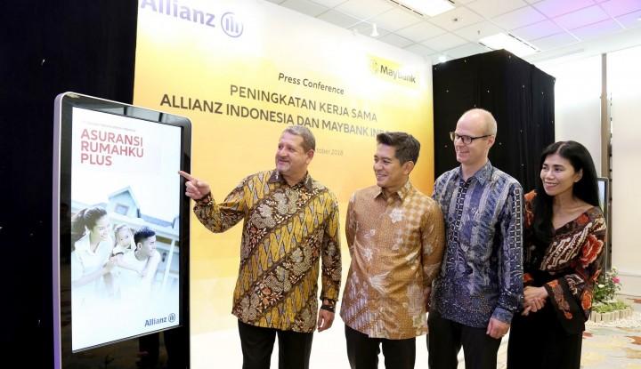 Foto Berita Perkuat Kerja Sama, Maybank Sediakan 12 Produk Allianz Indonesia