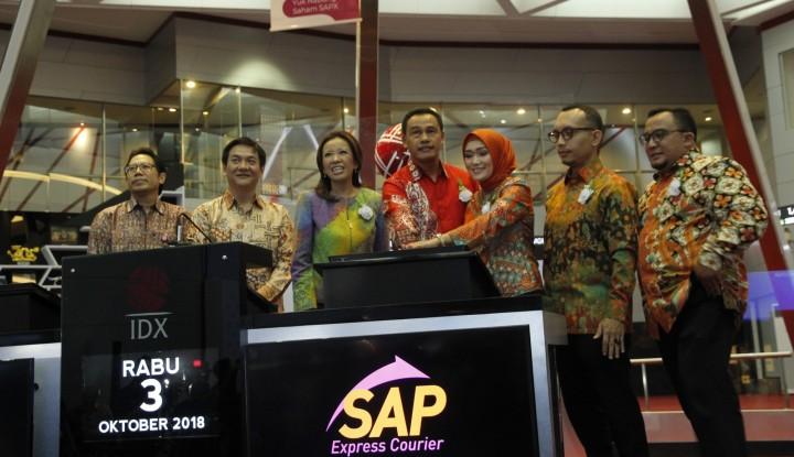 Foto Berita Pasca-IPO, SAP Express Targetkan Laba Melonjak 50%