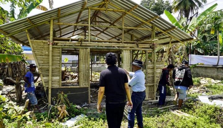 Foto Berita Abyor International Bangun Huntara Korban Gempa Lombok