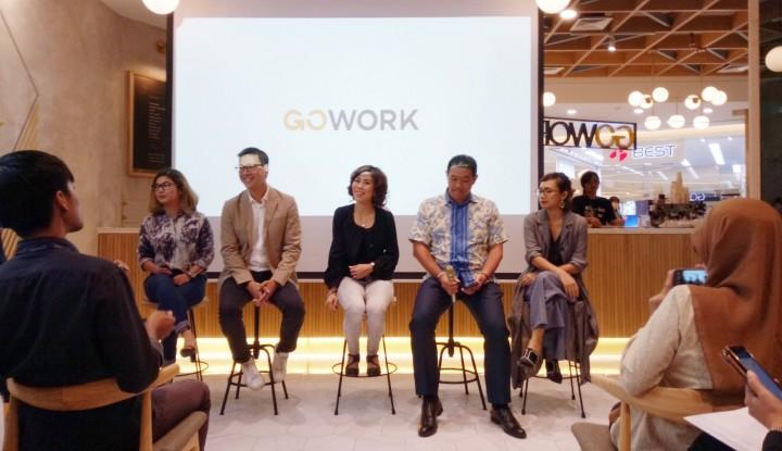 Foto Berita Kerja Sama, GoWork dan ReWork Ciptakan Coworking Space Berkelas Dunia