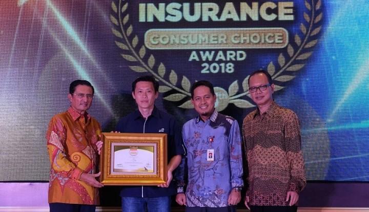 Foto Berita Asuransi Astra Raih Indonesia Insurance Consumer Choice Award 2018