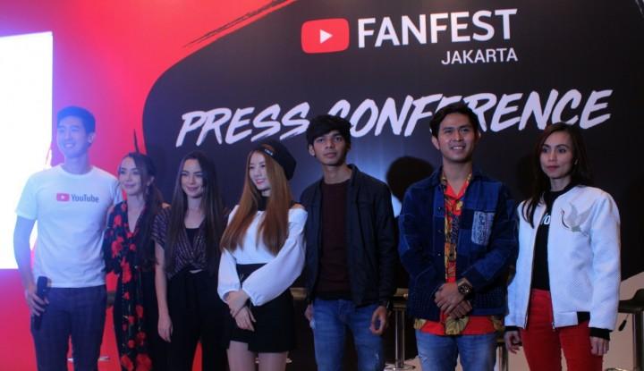 Foto Berita Youtube Fanfest Live Show 2018: Ajang Bertemu Para Kreator