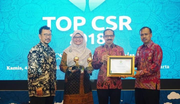Pertamina Lubricants Raih Dua Penghargaan dalam Ajang TOP CSR 2018 - Warta Ekonomi