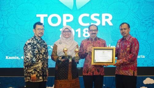 Pertamina Lubricants Raih Dua Penghargaan dalam Ajang TOP CSR 2018