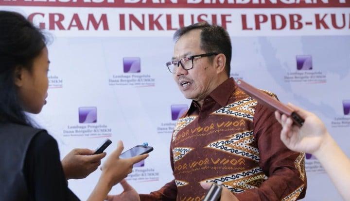 LPDB Optimistis Target Penyerapan Dana Tahun Ini Akan Tersalurkan - Warta Ekonomi