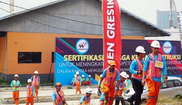 Foto Berita Semen Indonesia Dukung Sertifikasi Tenaga Konstruksi yang Diselenggarakan Kemenpupera