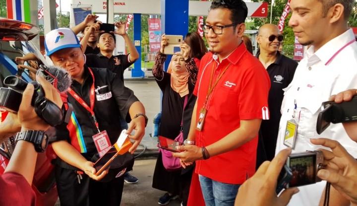 Foto Berita 12 SPBU Kalimantan Layani Pengguna TCASH