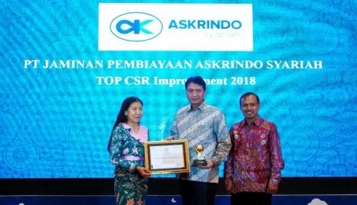 Foto Askrindo Syariah Sabet Top CSR 2018