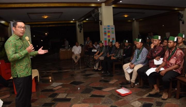 Foto Berita Ridwan Kamil Buka Seribu Lowongan CEO Perusahaan, Anda Berminat?