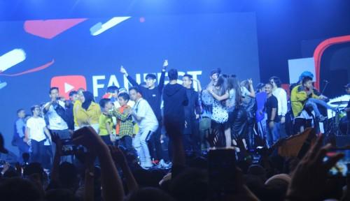 Foto Yuk, Intip Kemeriahan Youtube Fanfest Live Show 2018!