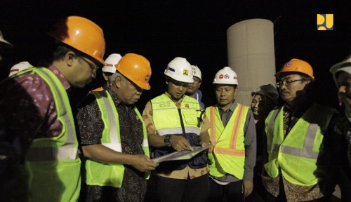 Foto Kementerian PUPR Rencana Rampungkan Bendung Karet KBB Awal 2019