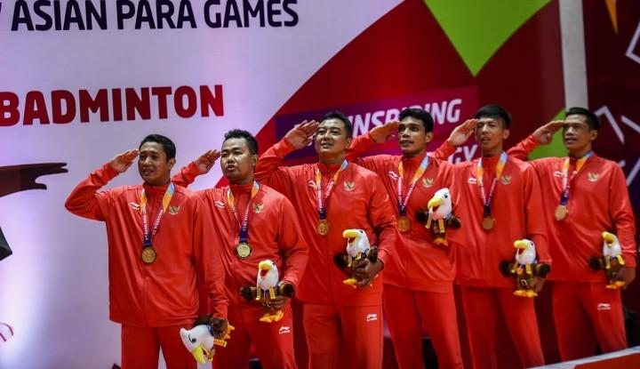 Foto Berita Daniel Mananta Iringi Penutupan Asian Para Games 2018