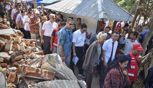 Foto Pinjaman Gempa Bank Dunia Bukan Penambahan Utang