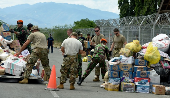 Foto Berita Sudah 12.149 Pengungsi Gempa Sulteng ke Sulsel