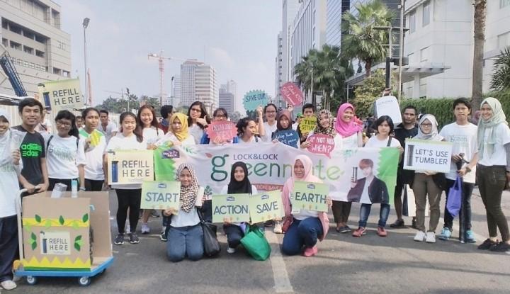 Foto Berita Lock&Lock Gandeng Mahasiswa Gelar Kampanye Lingkungan