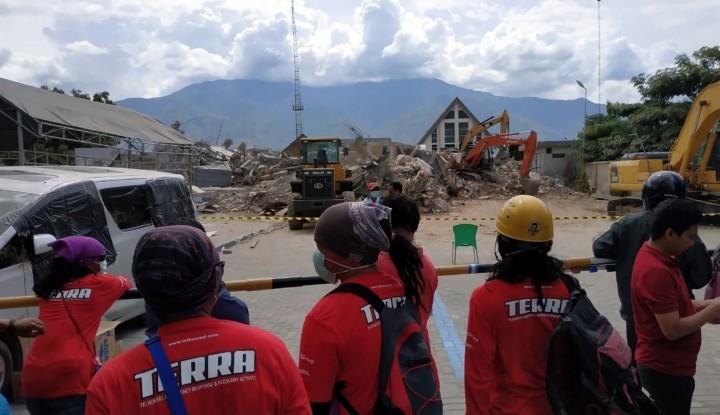 Foto Berita 80% Jaringan Telkom Pulih Pasca Gempa Sulteng