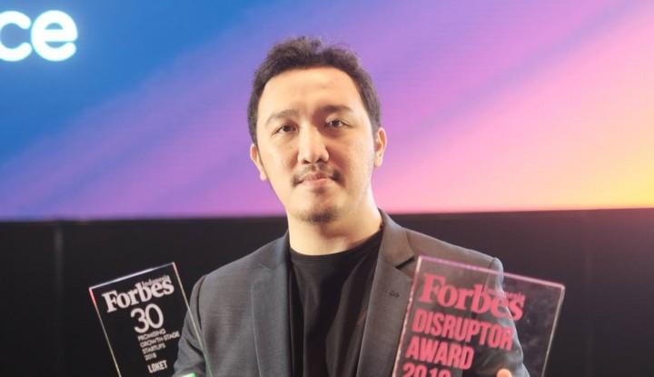 Loket Sabet Penghargaan 30 Promising Growth-Stage Startup dan Disruptor Award - Warta Ekonomi