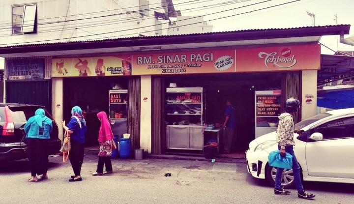 Foto Berita Soto Medan, Kuliner Legenda Para Pelanggan Militan