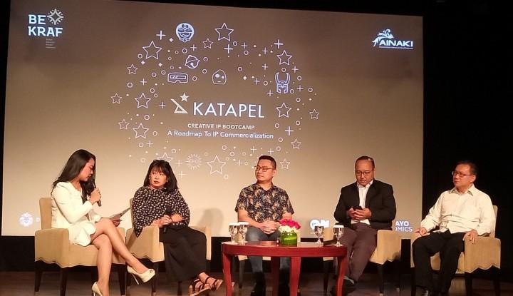 Foto Berita Kembangkan dan Perkuat Nilai Jual IP Lokal, Bekraf Luncurkan Program Katapel 2018