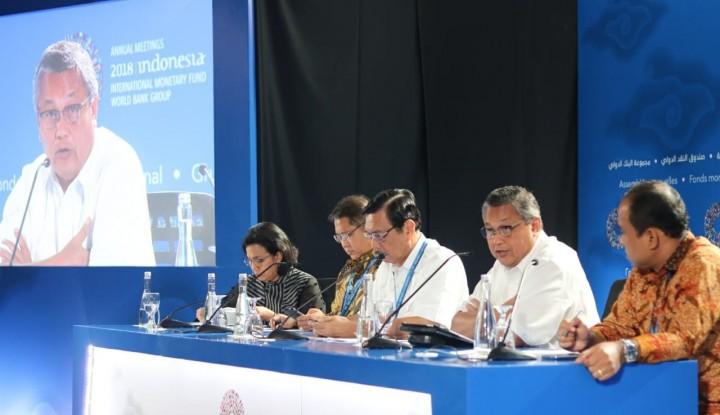 Foto Berita Annual Meetings IMF-WB Sukses, Indonesia Naikkan Standar Tuan Rumah