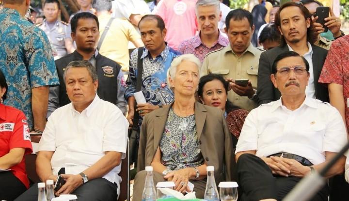 Foto Berita Lagarde: Indonesia Tak Butuh Utang dari IMF