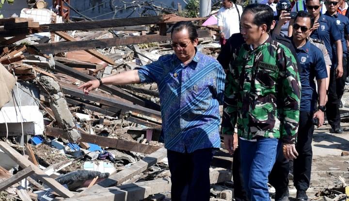 Foto Jokowi Akan Pantau Langsung Pencairan Dana Stimulan untuk Warga NTB