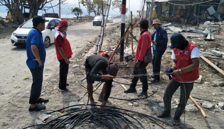 Foto Berita PLN Operasikan 360 Gardu Distribusi di Palu, Listrik Menyala 80%