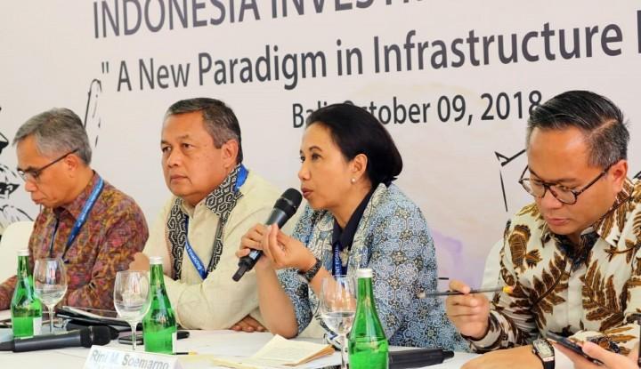 Menteri Rini: Pelemahan Rupiah Jadi Peluang Menarik bagi Investor - Warta Ekonomi
