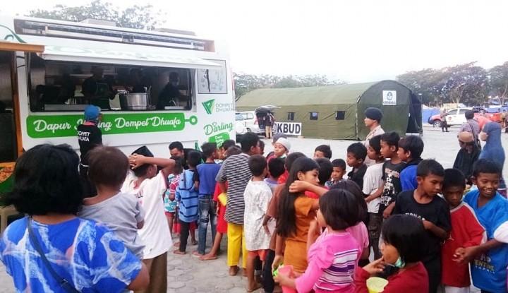 Foto Berita Dompet Dhuafa Kirimkan Dapur Keliling untuk Pengungsi Bencana Sulteng