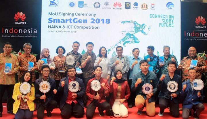 Huawei dan 8 Perguruan Tinggi Kerja Sama Bangun Program SmartGen 2018 - Warta Ekonomi