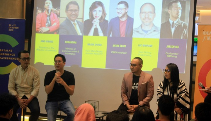 Foto Berita IdeaFest 2018 Jadi Ajang Kolaborasi untuk Negeri