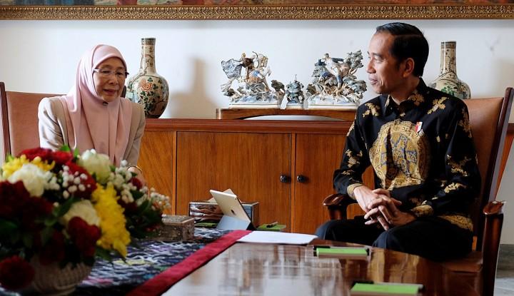 Foto Berita Jokowi Bertemu Wakil PM Malaysia, Pembahasannya 'Keren'