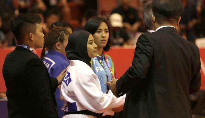Foto Berita Judoka Indonesia Didiskualifikasi Karena Tak Lepas Jilbab, PBNU Turut Bicara