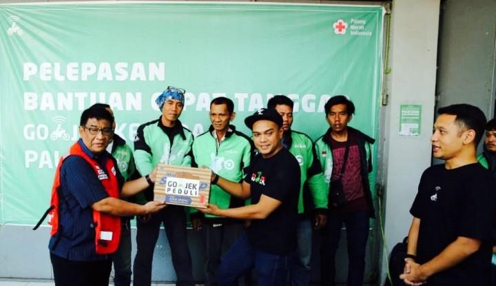 Foto Berita Go-Jek Salurkan Bantuan untuk Korban Gempa dan Tsunami Sulteng