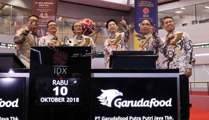Garudafood Alokasikan Dana Rp800 M untuk Belanja - Warta Ekonomi