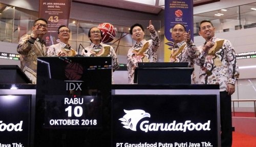 Lepas Jutaan Saham Garudafood, Miliaran Rupiah Masuk Kantong...