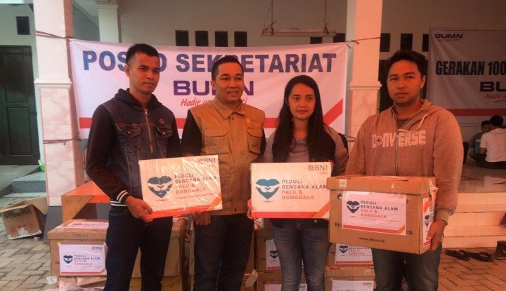 BNI Life Terjunkan Tim Relawan Bantu Korban Bencana Sulteng - Warta Ekonomi