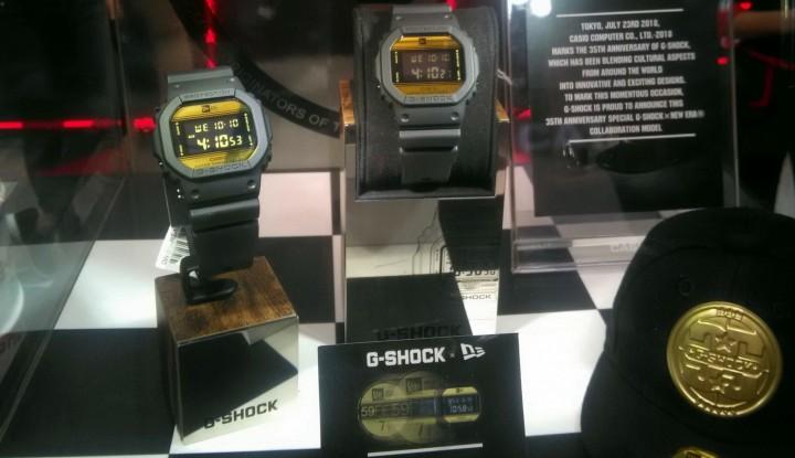 Foto Berita Kolaborasi dengan New Era, Casio Cuma Jual 50 G-Shock di Indonesia