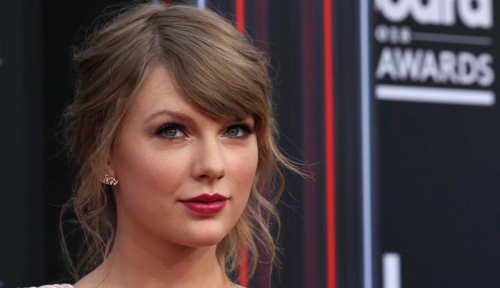 Foto Berita Taylor Swift Terjun ke Politik, Jumlah Pemilih AS Meroket