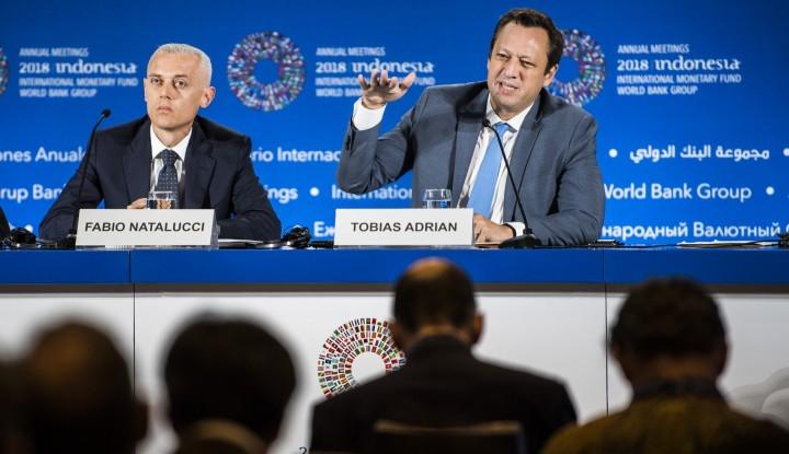 Foto Berita Peringatan IMF: Perang Dagang Akan Merusak Pertumbuhan Global
