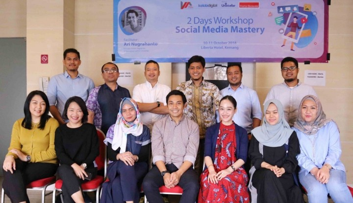 2Days Workshop Social Media Mastery Berlanjut di Hari Kedua - Warta Ekonomi