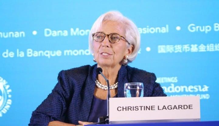 Foto Berita IMF Pangkas Proyeksi Pertumbuhan Global ke 3,5%