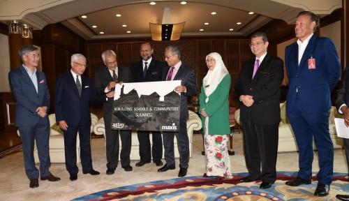 Foto 2 Perusahaan Malaysia Kucurkan Donasi Rp18 Miliar untuk Sulteng
