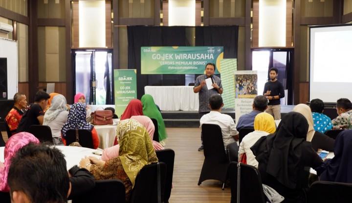 Foto Berita Go-Jek Dukung UMKM Purwokerto Tingkatkan Bisnis Lewat Pelatihan Wirausaha